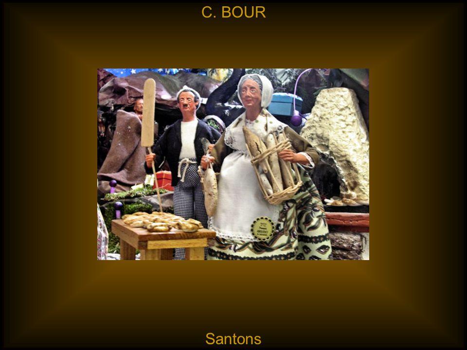 C. BOUR Santons