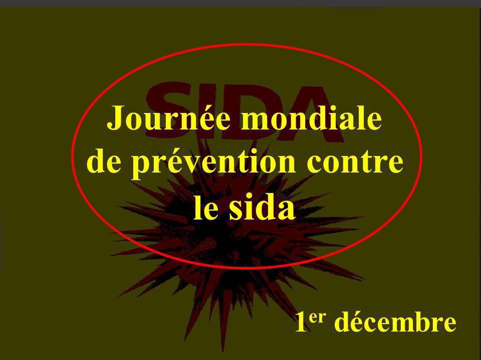 Journée mondiale de prévention contre le sida