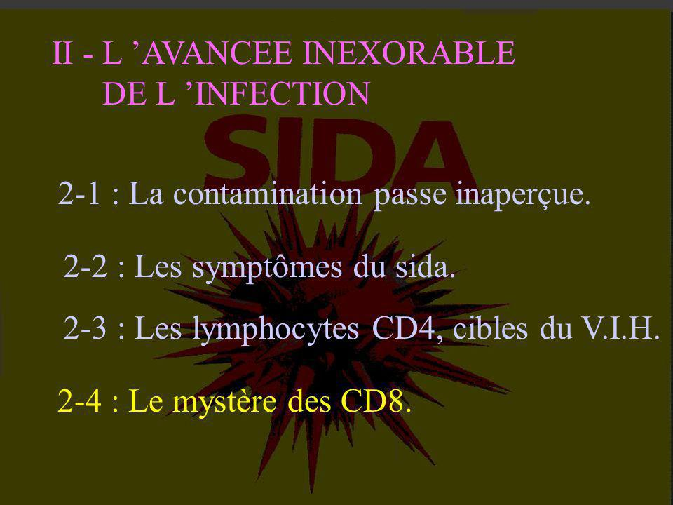 II - L 'AVANCEE INEXORABLE