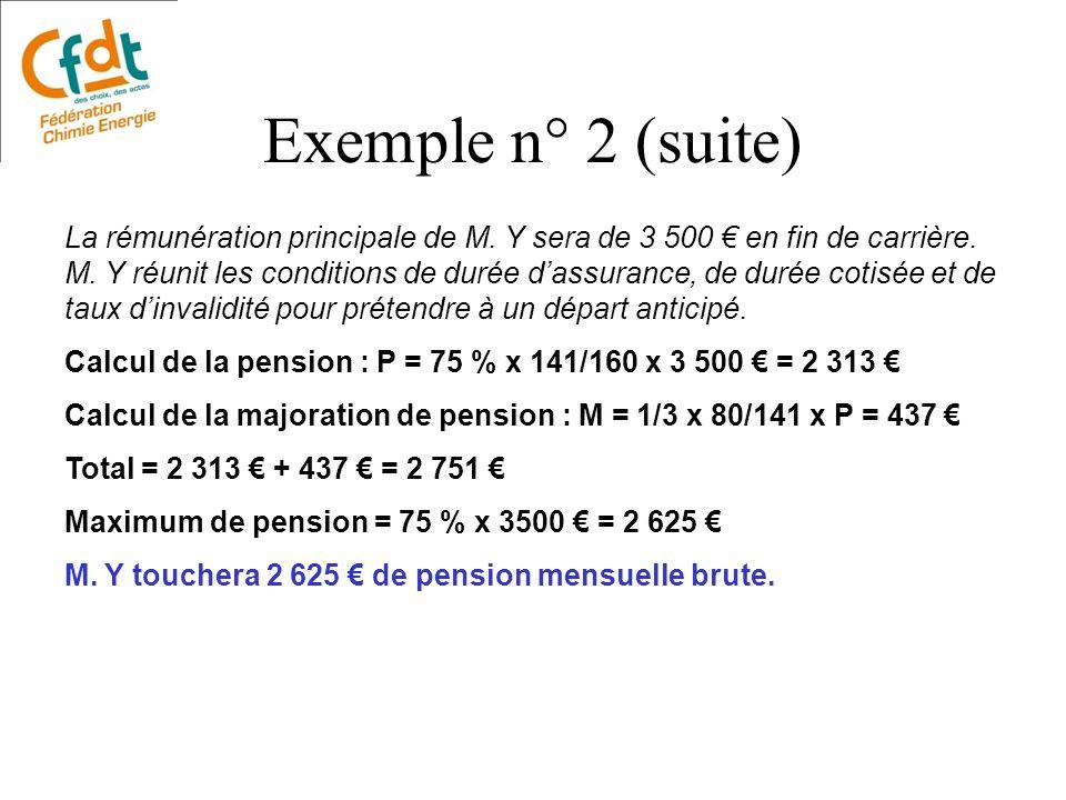 Exemple n° 2 (suite)