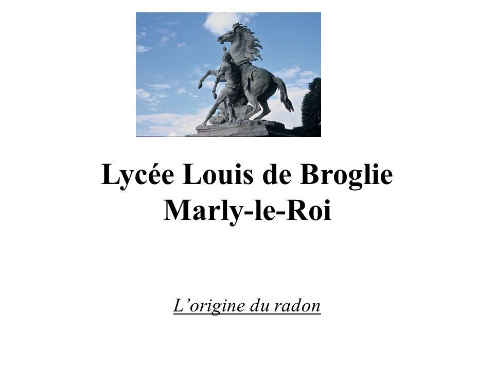 Lycée Louis de Broglie Marly-le-Roi