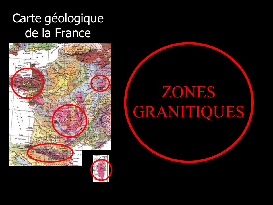 Carte géologique de la France