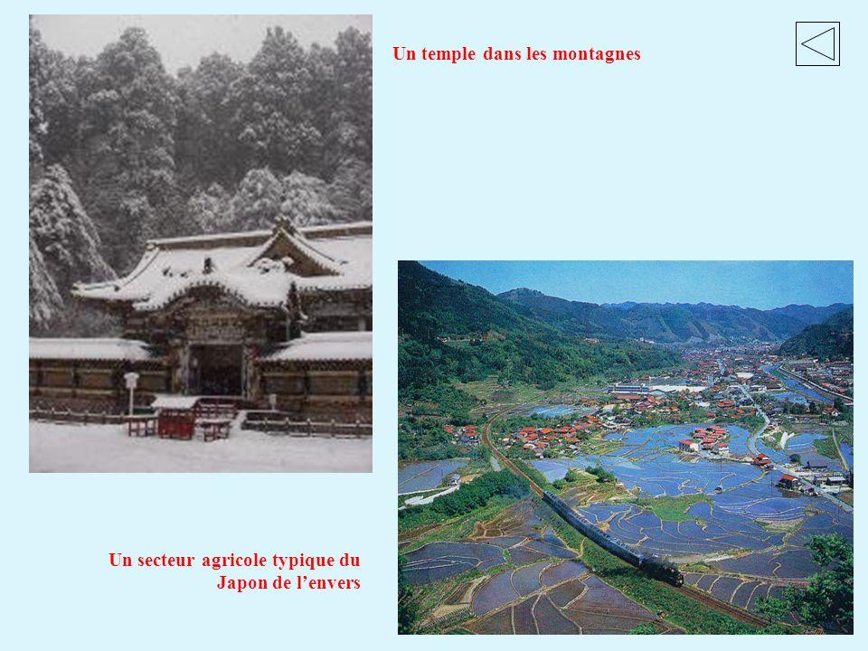 Un temple dans les montagnes