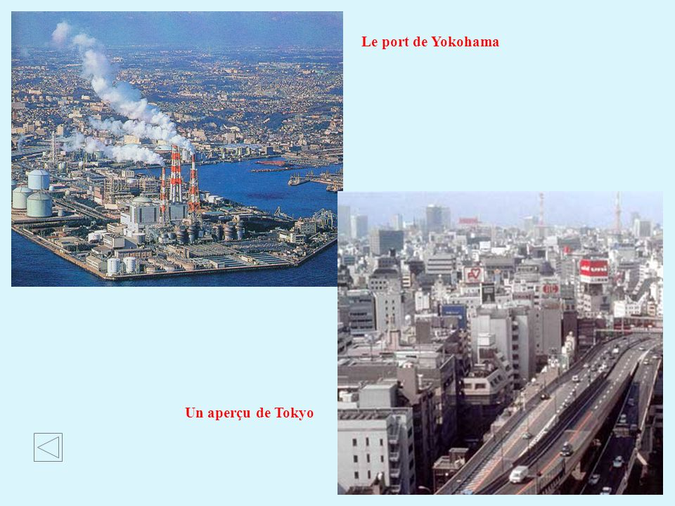 Le port de Yokohama Un aperçu de Tokyo
