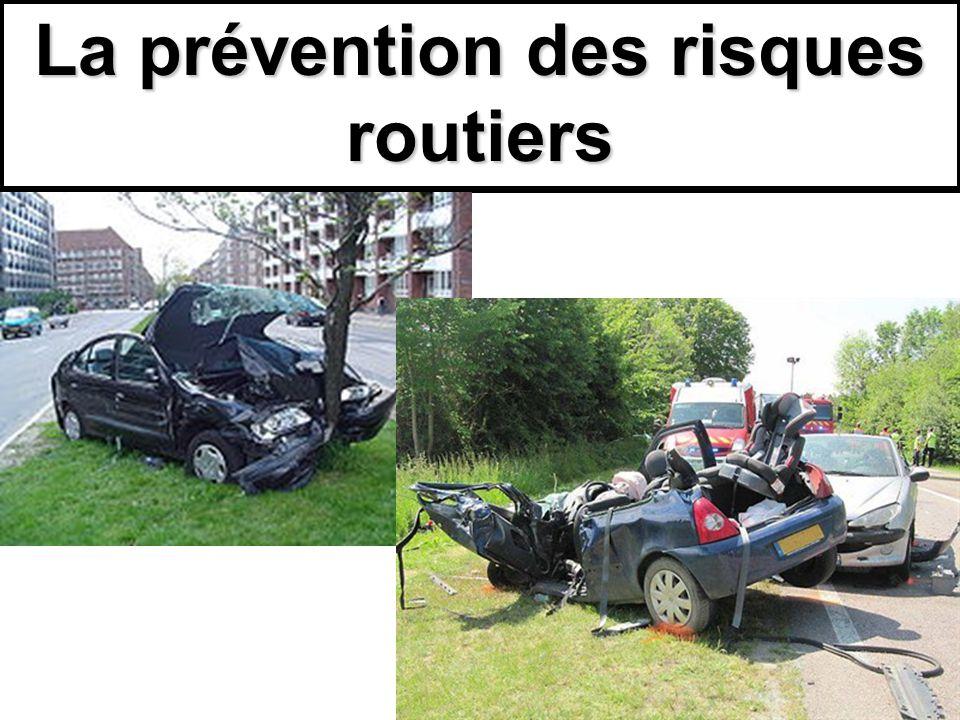 La prévention des risques routiers