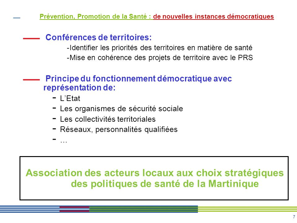 Prévention, Promotion de la Santé : de nouvelles instances démocratiques