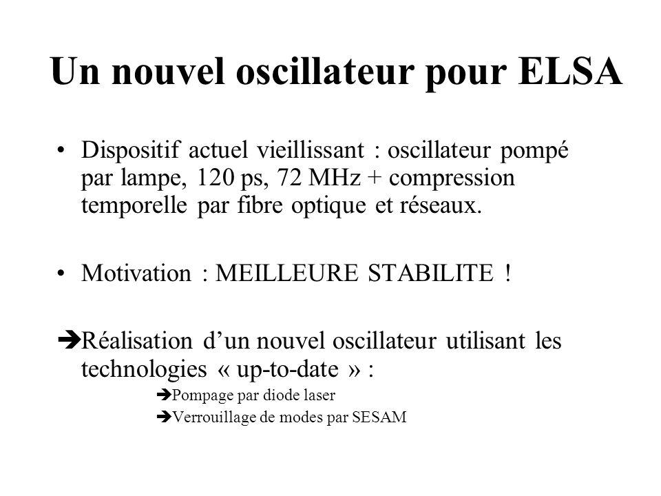 Un nouvel oscillateur pour ELSA