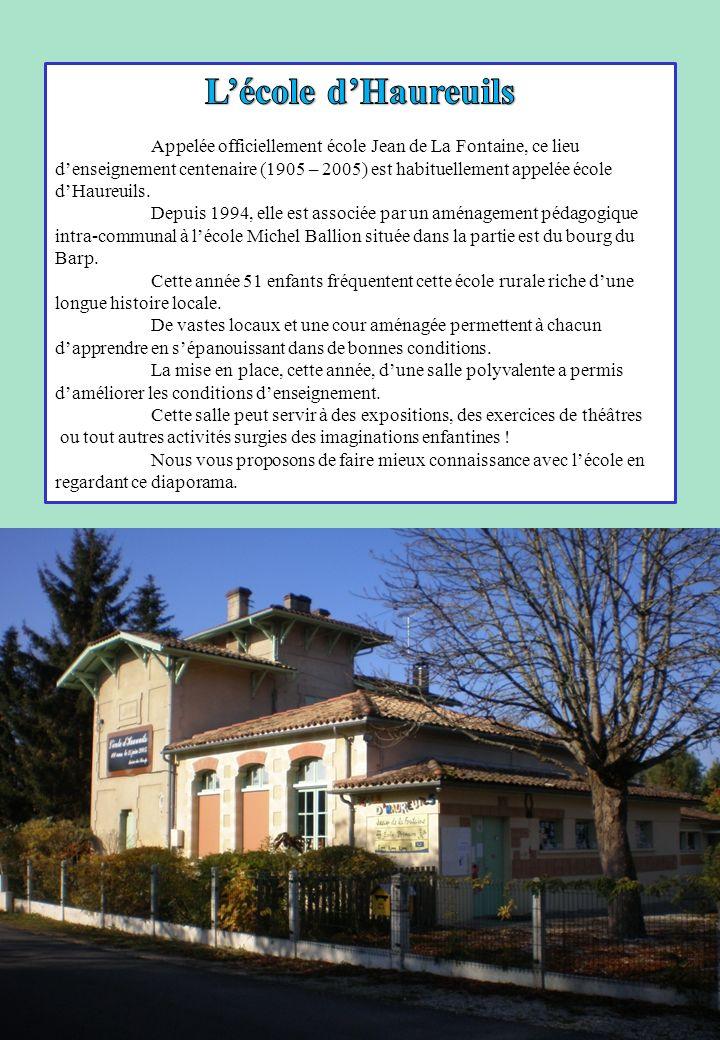 L'école d'Haureuils