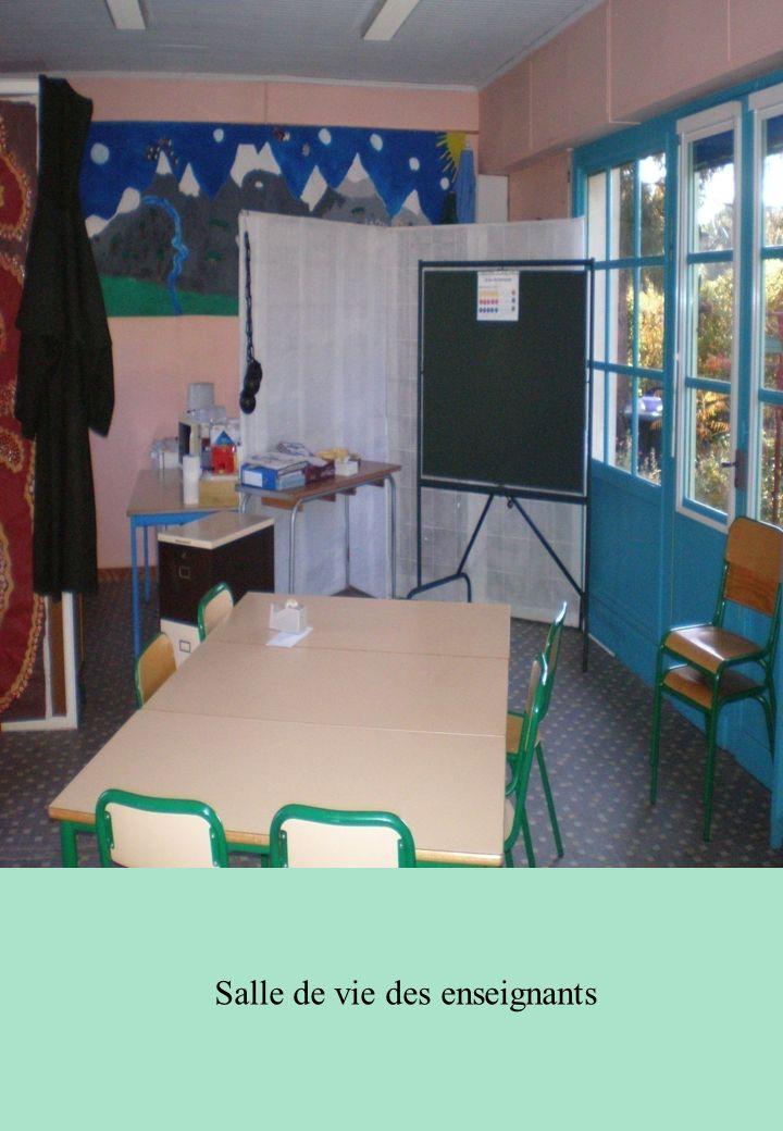 Salle de vie des enseignants