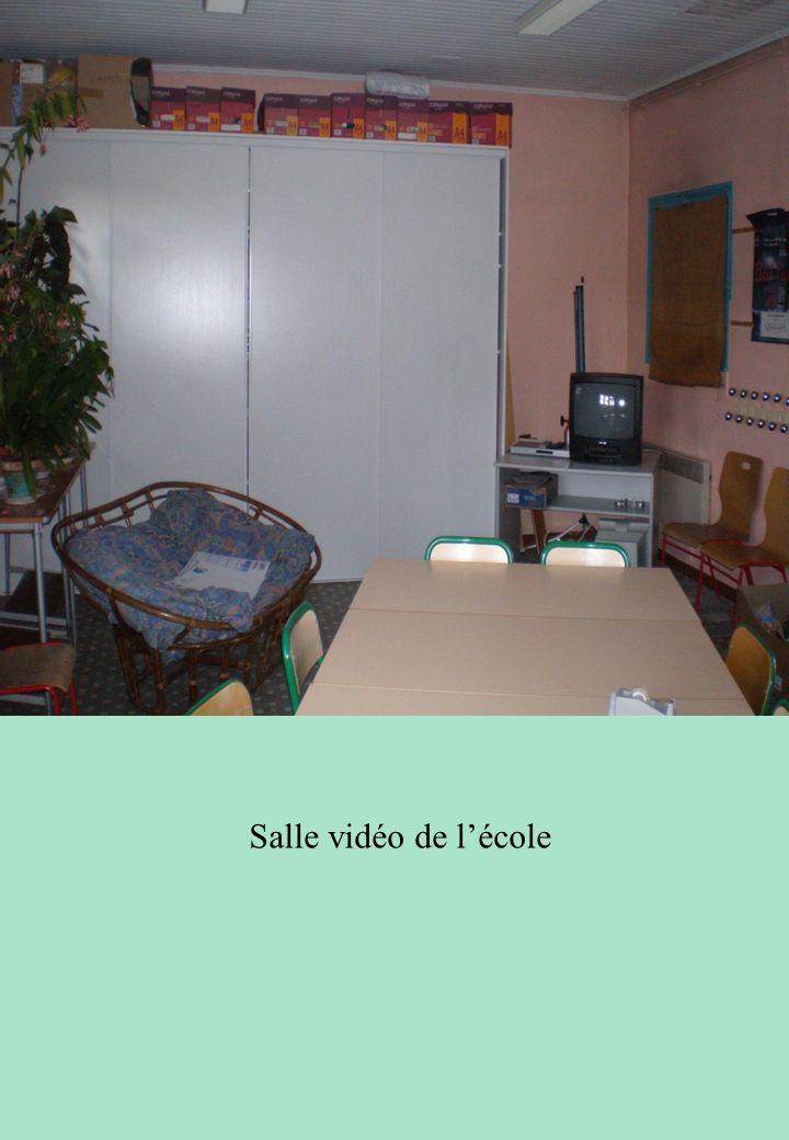 Salle vidéo de l'école