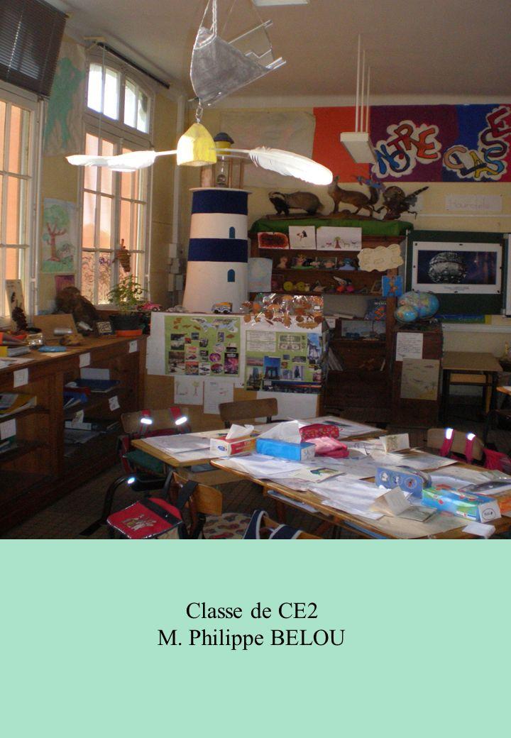 Classe de CE2 M. Philippe BELOU