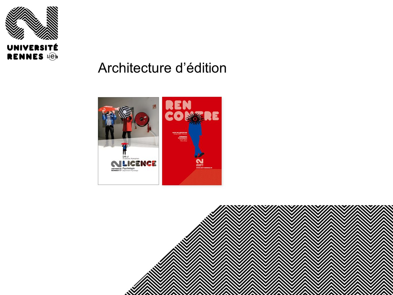Architecture d'édition