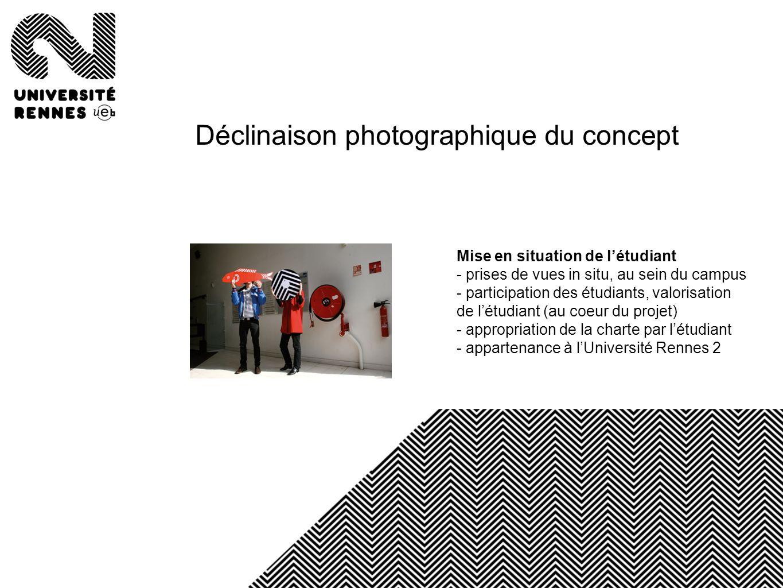 Déclinaison photographique du concept