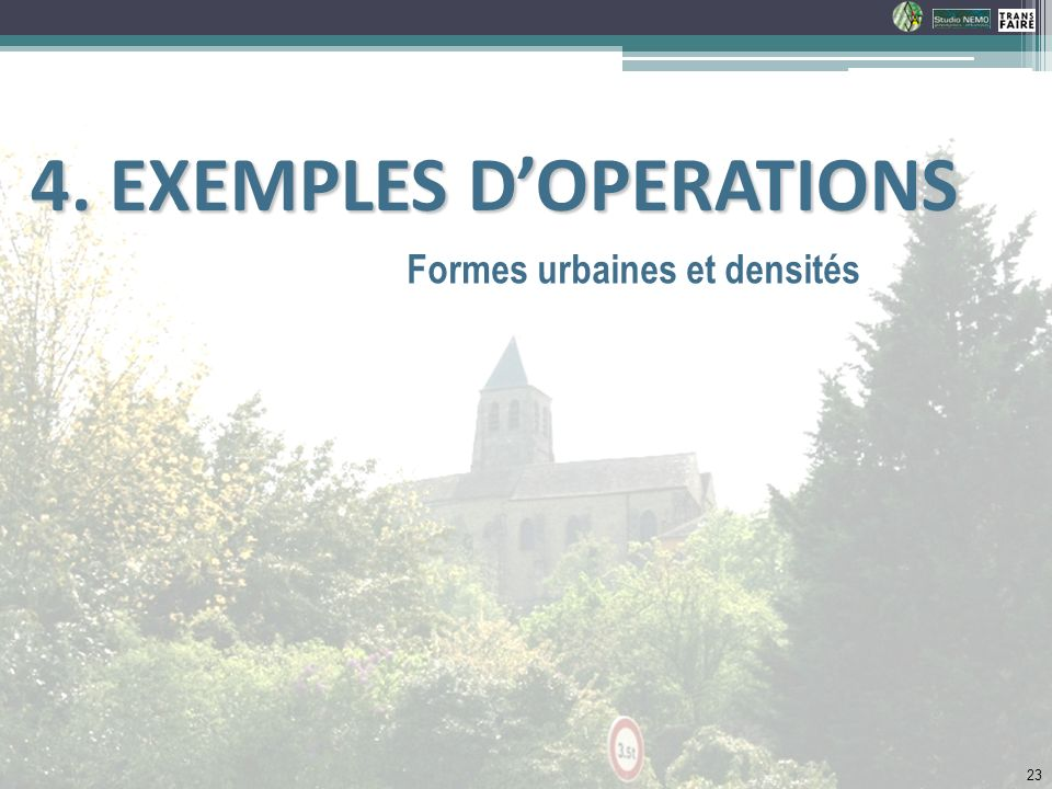 4. EXEMPLES D'OPERATIONS