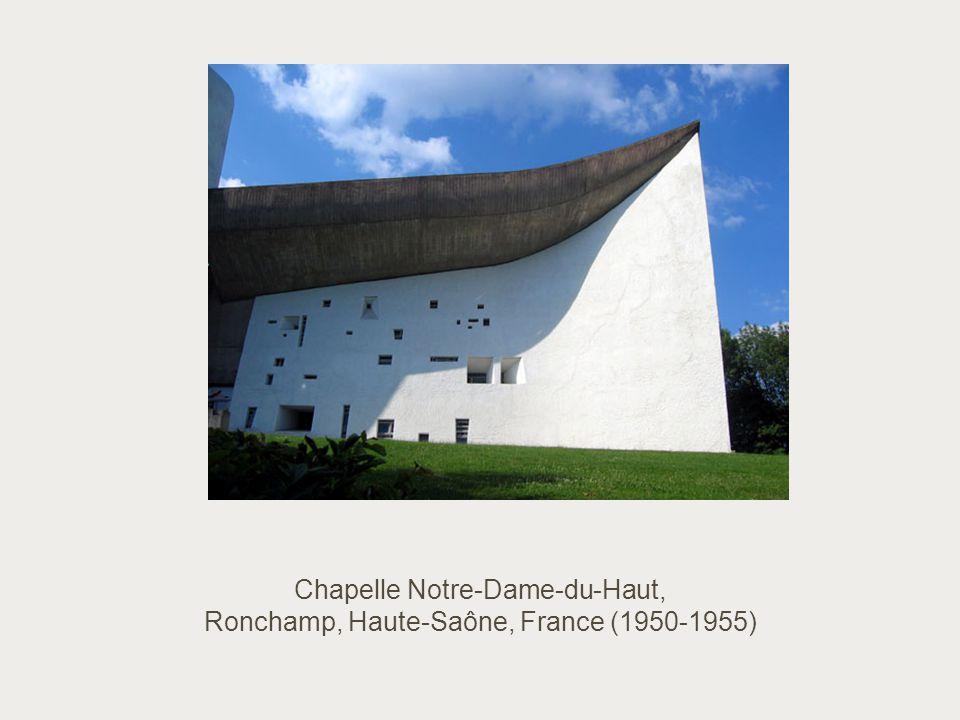 Chapelle Notre-Dame-du-Haut, Ronchamp, Haute-Saône, France (1950-1955)