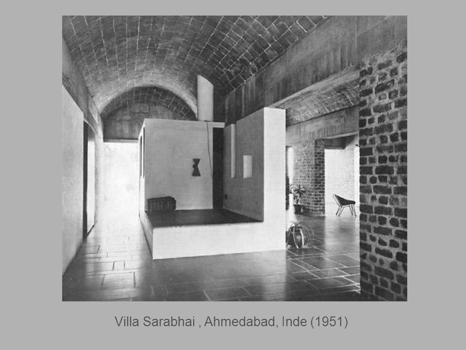Villa Sarabhai , Ahmedabad, Inde (1951)