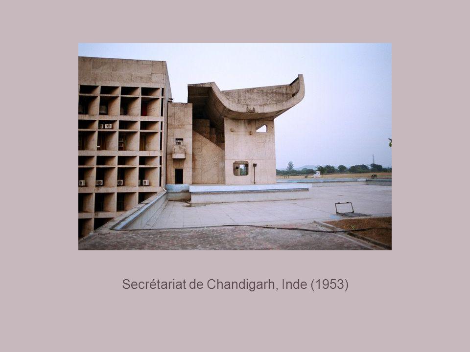Secrétariat de Chandigarh, Inde (1953)