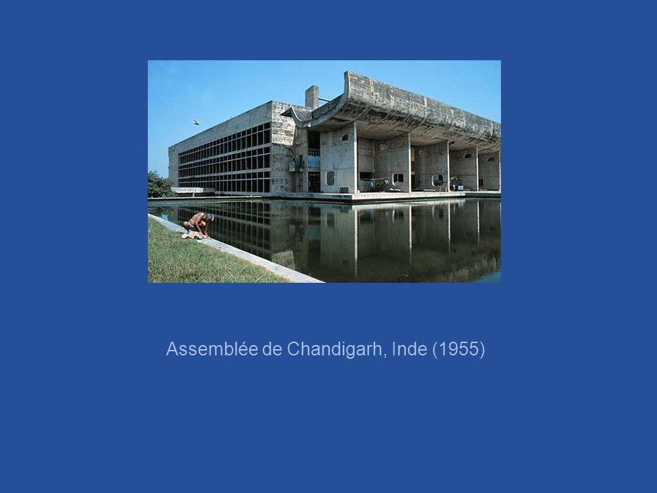Assemblée de Chandigarh, Inde (1955)