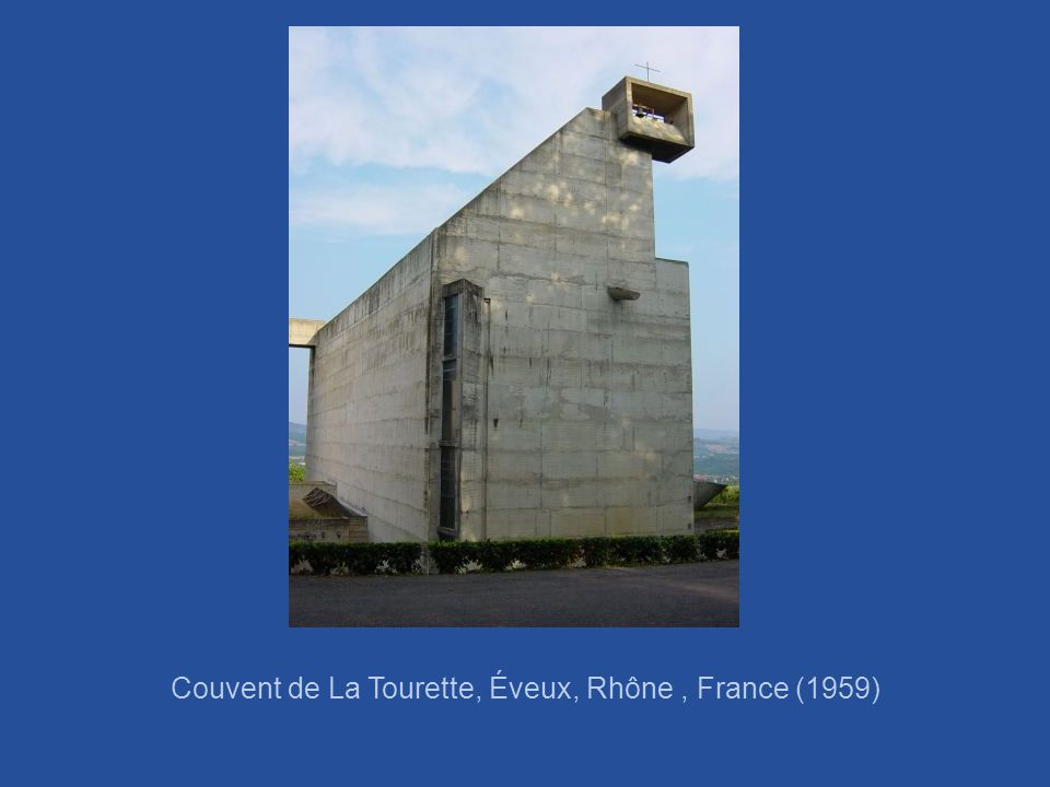 Couvent de La Tourette, Éveux, Rhône , France (1959)
