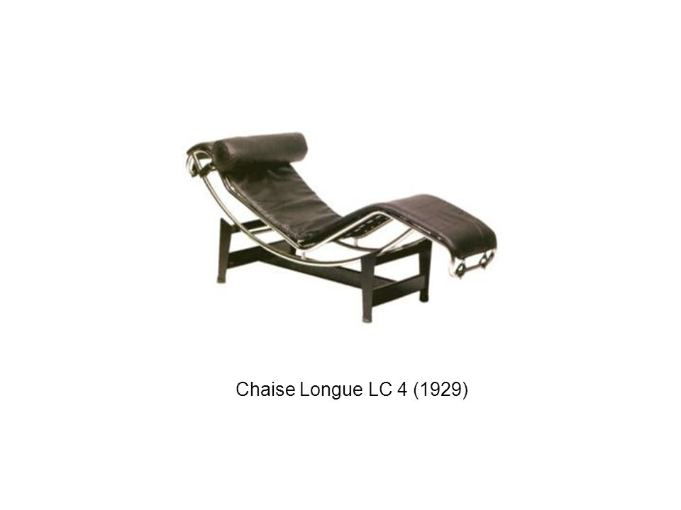 Chaise Longue LC 4 (1929)