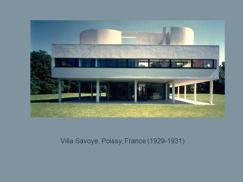 Villa Savoye, Poissy, France (1929-1931)