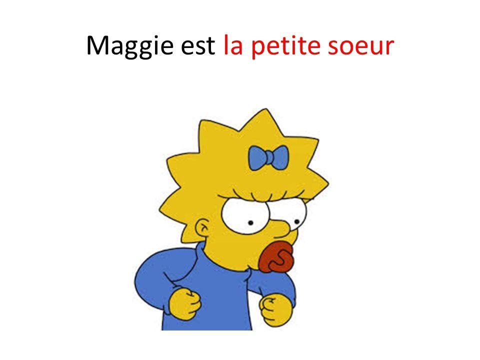 Maggie est la petite soeur