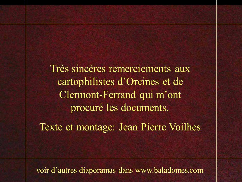 Texte et montage: Jean Pierre Voilhes