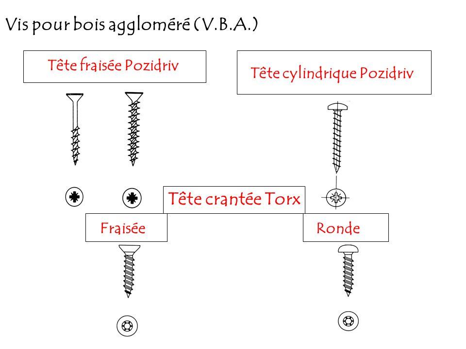 Tête cylindrique Pozidriv