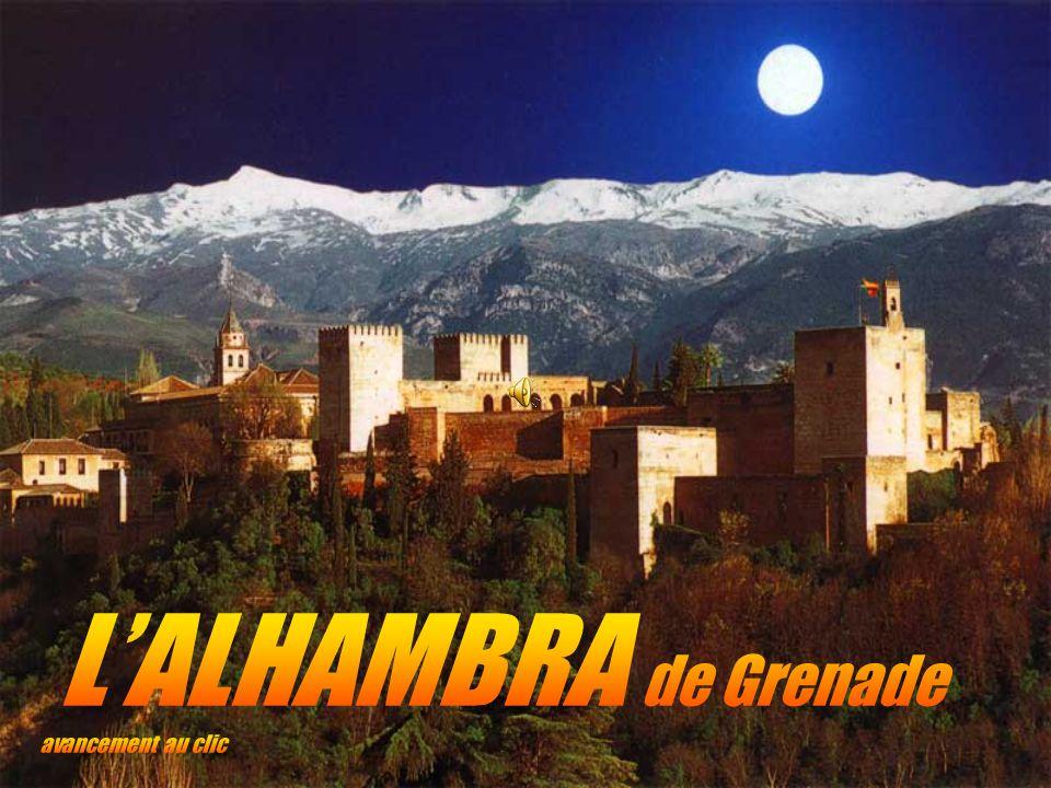 L'ALHAMBRA de Grenade avancement au clic