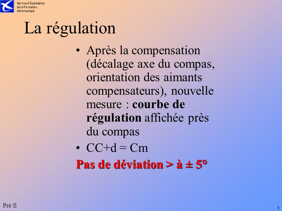 La régulation