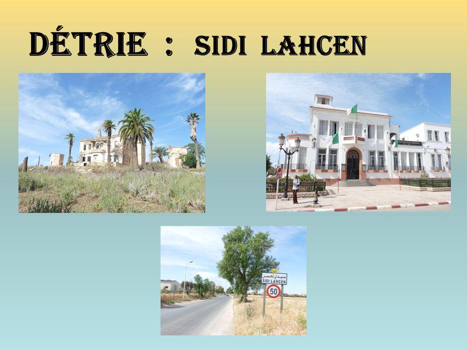 Détrie : Sidi lahcen