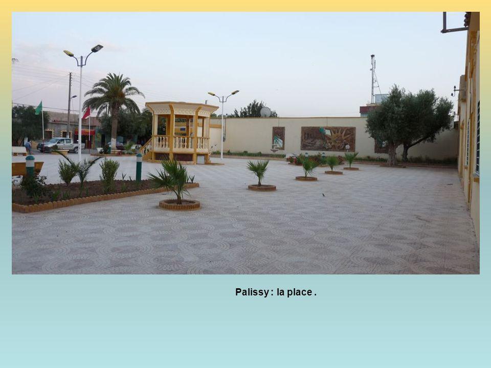 Palissy : la place .