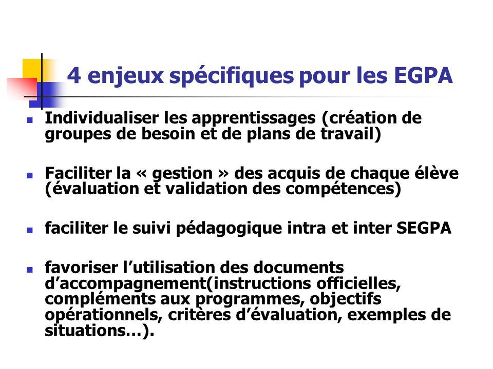 4 enjeux spécifiques pour les EGPA