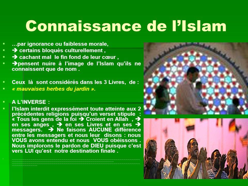 Connaissance de l'Islam