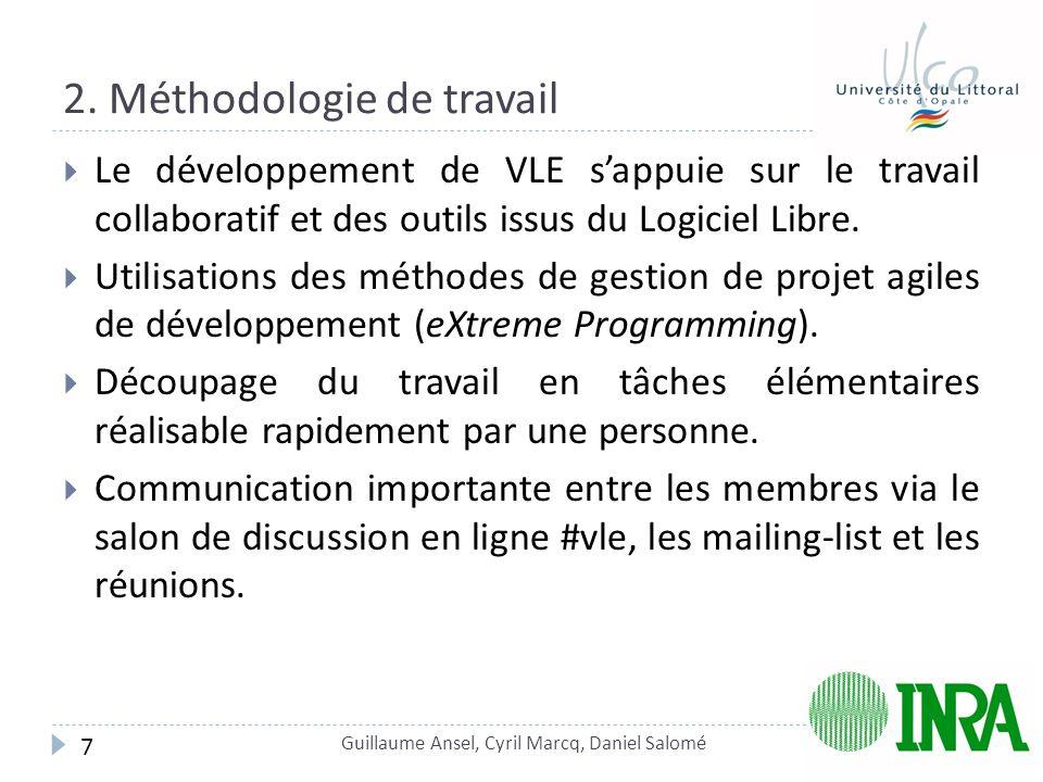 2. Méthodologie de travail