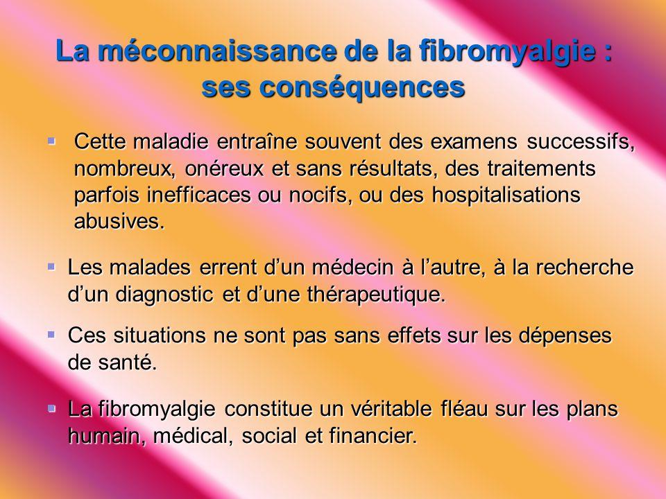 La méconnaissance de la fibromyalgie : ses conséquences