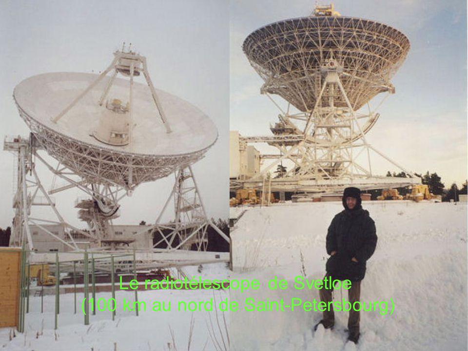 Le radiotélescope de Svetloe (100 km au nord de Saint-Petersbourg)