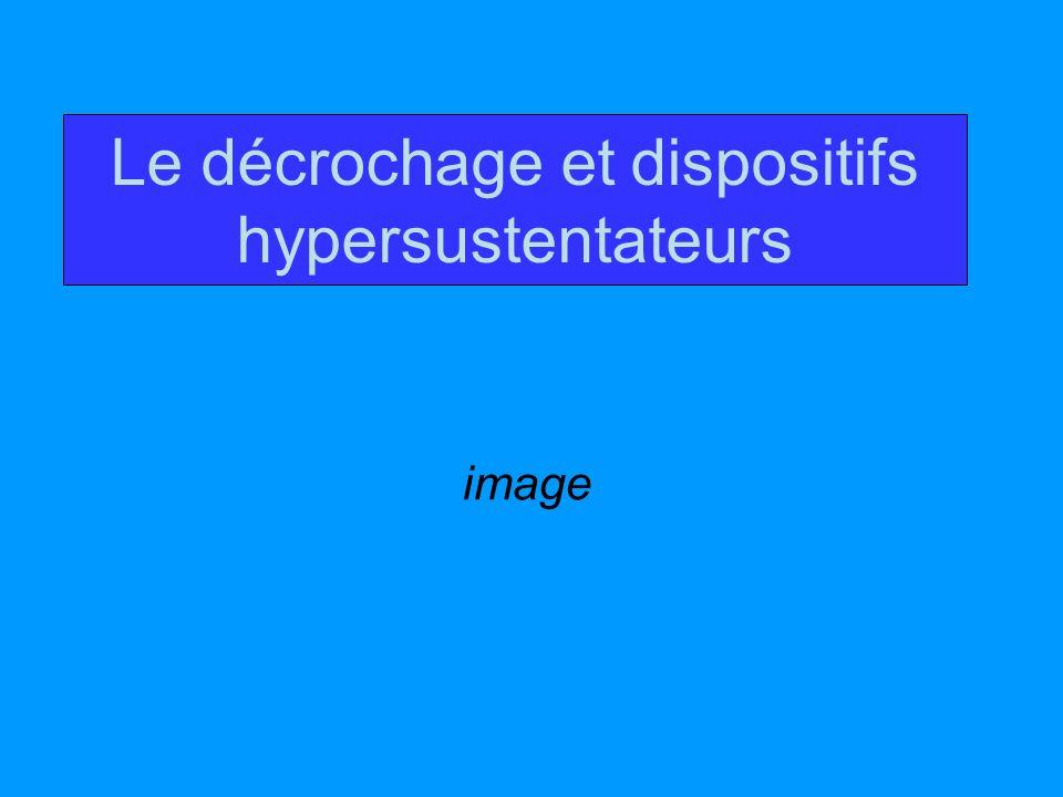 Le décrochage et dispositifs hypersustentateurs