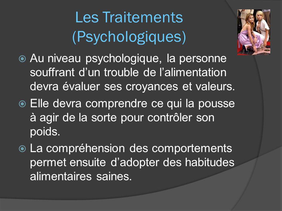 Les Traitements (Psychologiques)