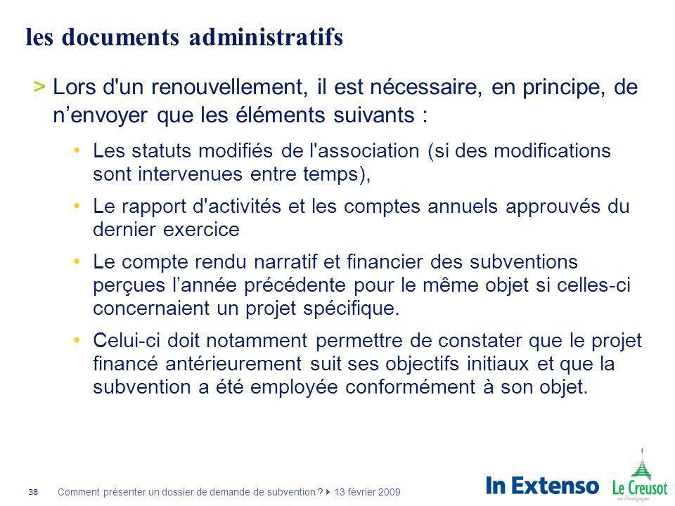 les documents administratifs