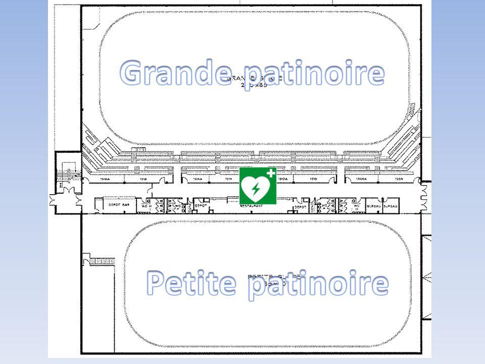 Grande patinoire Petite patinoire