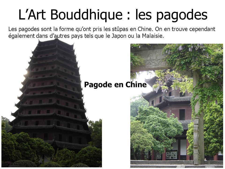 L'Art Bouddhique : les pagodes