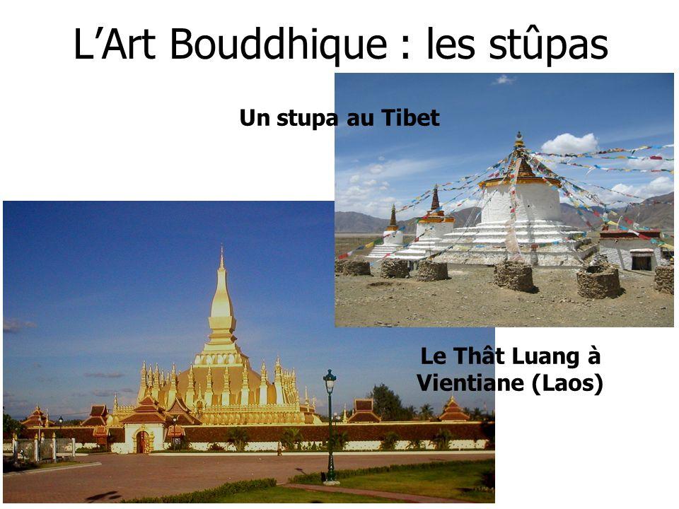 L'Art Bouddhique : les stûpas