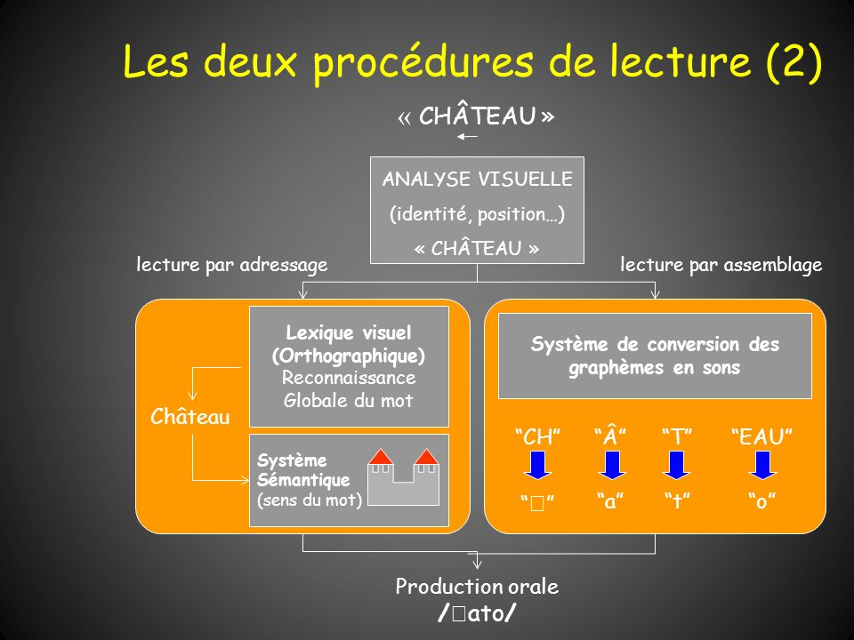 Les deux procédures de lecture (2)