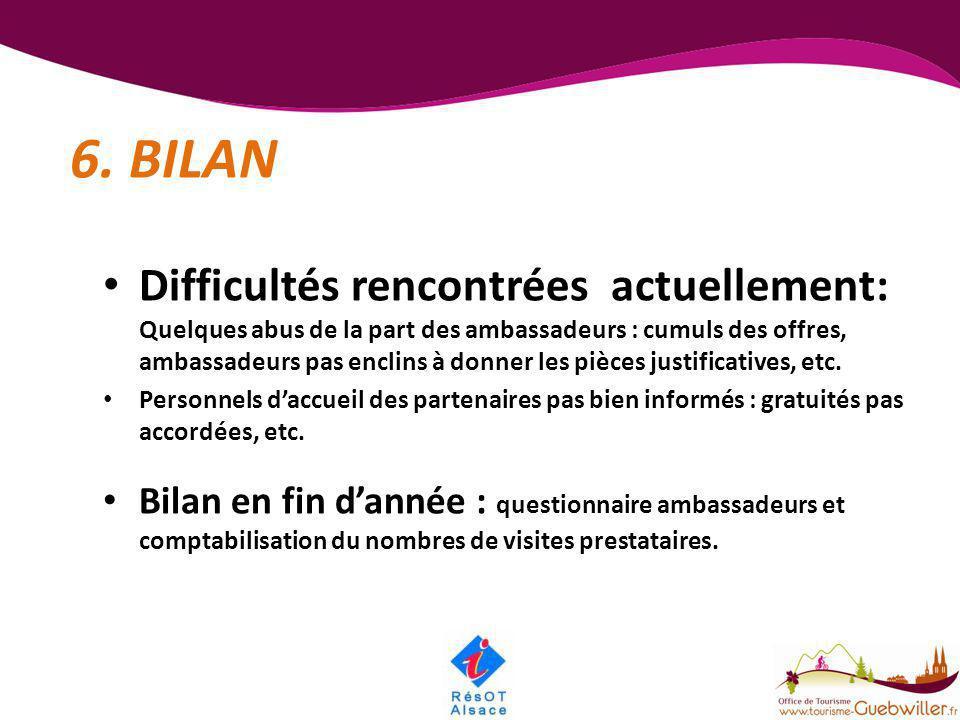 6. BILAN
