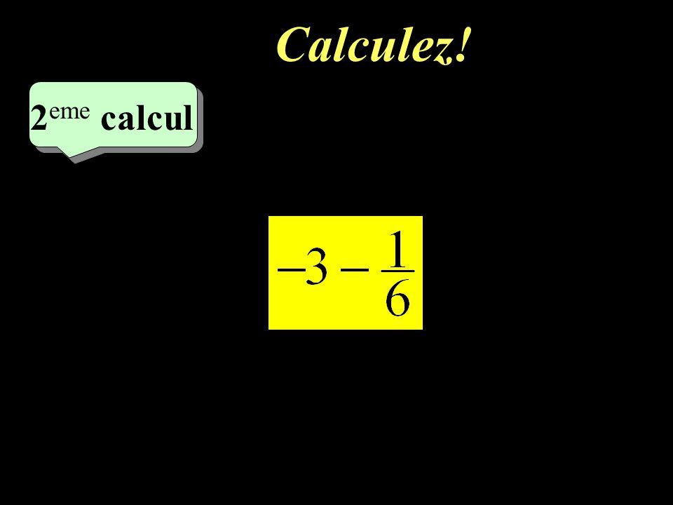 Calculez! 2eme calcul 2eme calcul 1