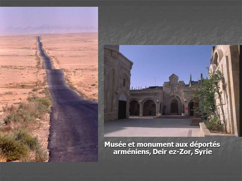 Musée et monument aux déportés arméniens, Deir ez-Zor, Syrie
