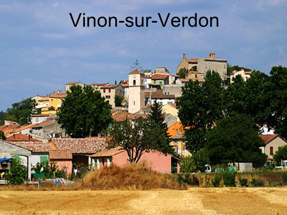 Vinon-sur-Verdon