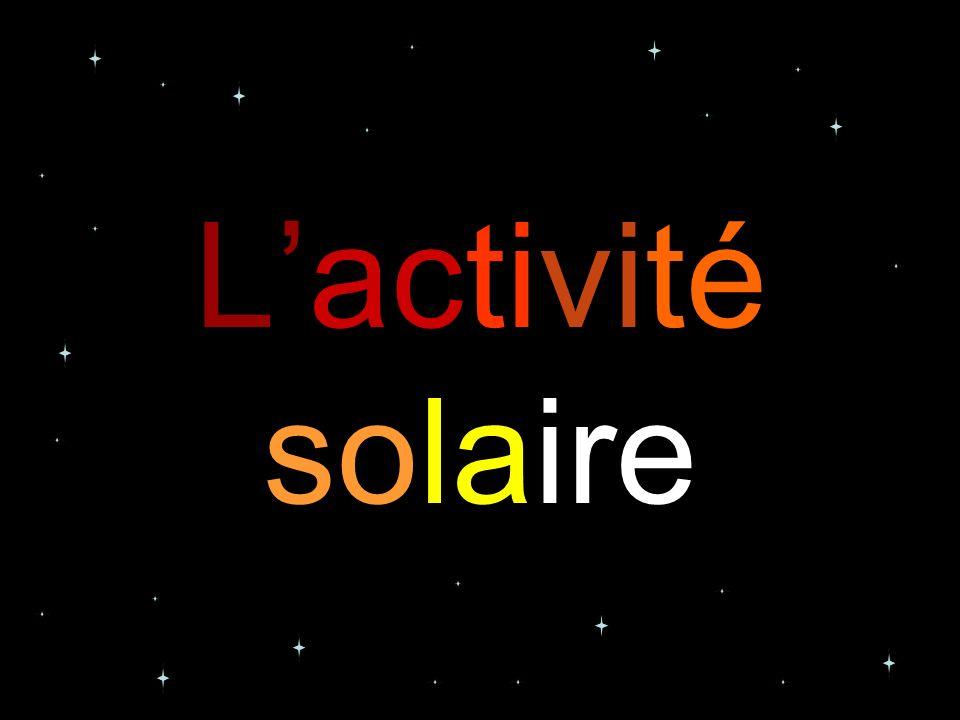L'activité solaire