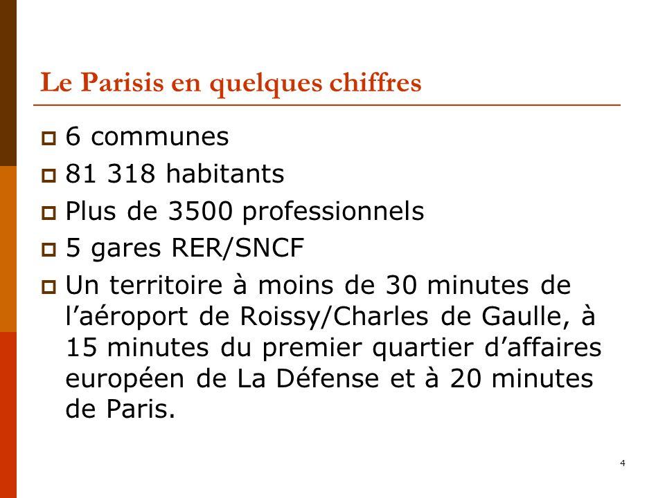 Le Parisis en quelques chiffres